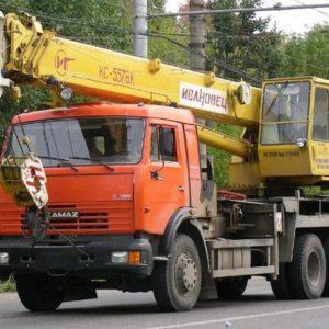 Аренда автокран Ивановец 32 т, стрела 30+8 м