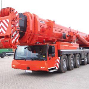 Аренда автокрана Liebherr LTM 1500 500 тонн